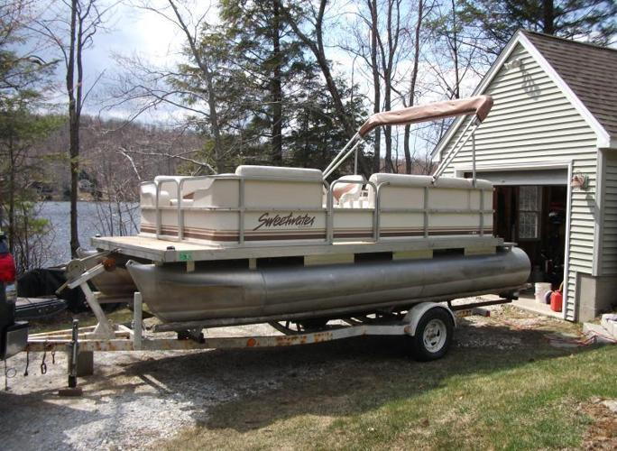 99 Sweetwater 186 Pontoon Boat For Sale In Becket