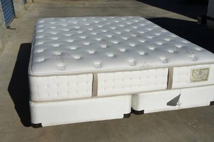 New Stearns And Foster Bradenburg Cal King Mattress And Box