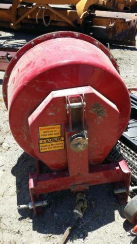 9cuft pto drive cement mixer