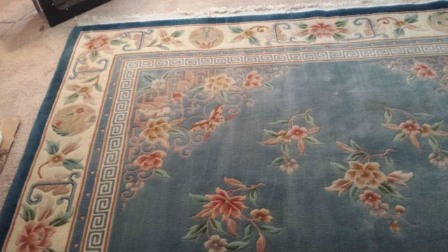 9x12 CHINESE AUBUSSON SUPER FINE 100 WOOL Oriental Rug