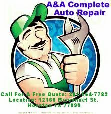 A& A Complete Auto Repair !!