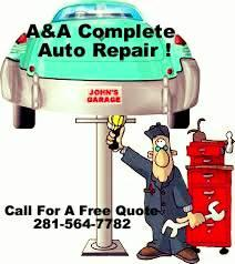 A&A Complete Auto Repair !!