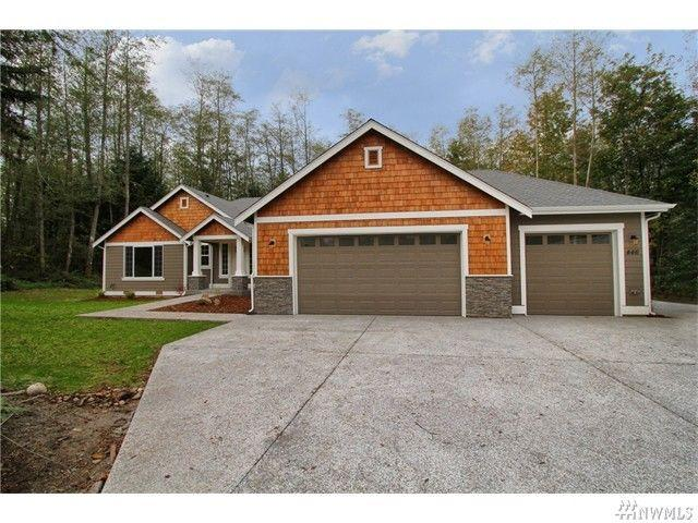 a beautiful rambler style home for sale in camano island