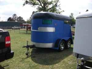 A BLUE 2 HORSE TRAILER - $1650 (SUMTER SC)