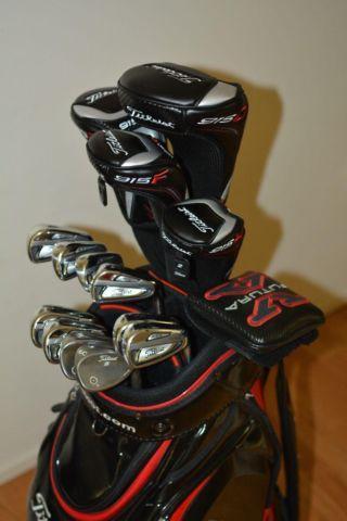 a complete titleist golf club set 915 d2fdh 714 ap2. Black Bedroom Furniture Sets. Home Design Ideas