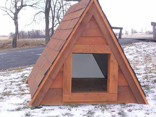 A Frame Dog House for Sale in Ligonier Indiana