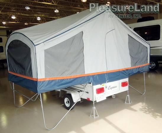 a frame pop up camper only 500 pounds pull with car