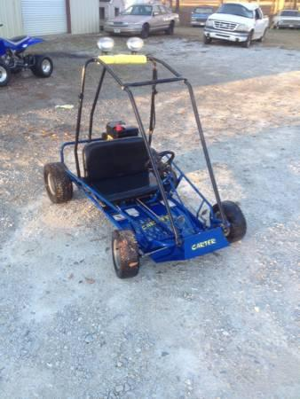 A nice two seater go cart - $1300