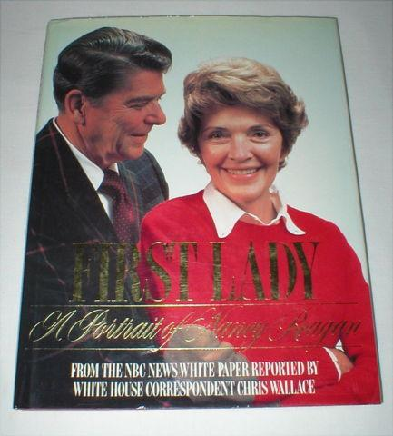 A Portrait of Nancy Reagan First Lady - 1986, Hardcover