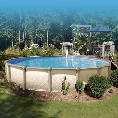 Above Ground Swimming Pool - 24 foot round Vogue