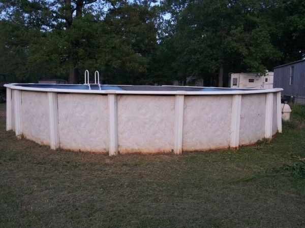 Above Ground Swimming Pool 28x52 Monroe La For Sale