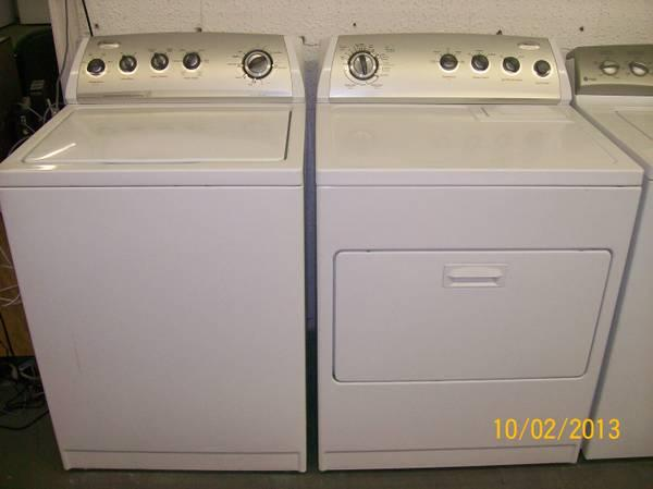 ACE APPLIANCE HAS WASHER AND DRYER MATCHING SETS
