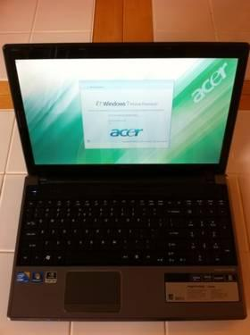Acer Laptop 2.4GHz Core i5 TouchScreen 500GB 4GB 1GB nVidia GT330M