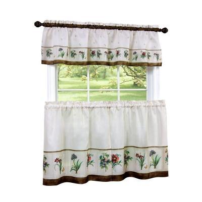 Achim 58 in. x 36 in. Botanical Printed Tier and