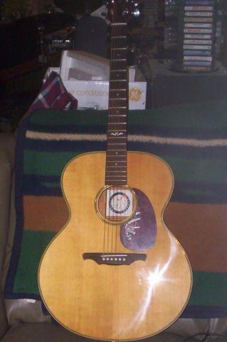acoustic alvarez guitar for sale in alton missouri classified. Black Bedroom Furniture Sets. Home Design Ideas