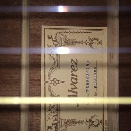 Acoustic Alvarez Guitar For Sale - $160