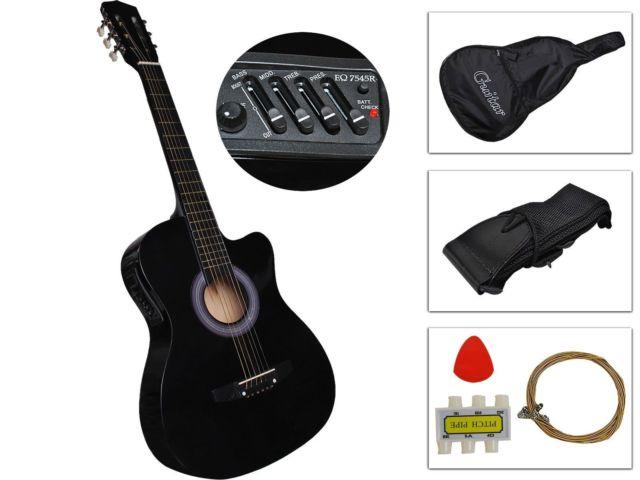 Acoustic Electric Guitar Best 2016 Design W/Guitar