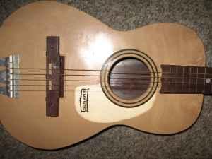 Acoustic Guitar by Americana Emenee 1960's Harmony -