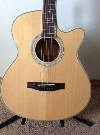Acoustic Guitar Wood Color For Sale In Amber Washington