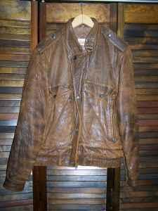 Adam Spencer Leather Jacket - $25 (Simpsonville)