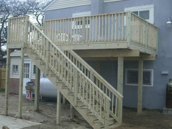 Add stairs, a roof or a addtion to your deck 12x12 deck w ...