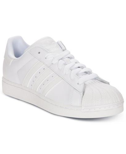 113085871 adidas Men s Originals Superstar II Casual Basketball Sneakers from ...