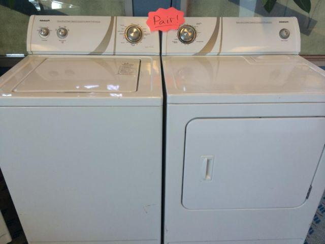Admiral Heavy Duty Washer Amp Dryer Set Pair Used For