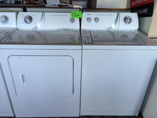 Admiral Top Load Washer Amp Dryer Set Pair Used For Sale