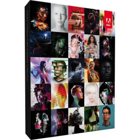 Adobe CS6 Master Collection DVD for Windows & Serial