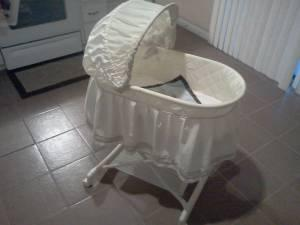 Does Fisher price swinging bassinet same