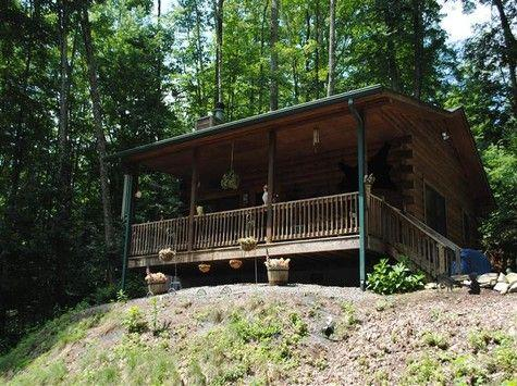 Adorable Cabin In The Woods For Rent In Maggie Valley