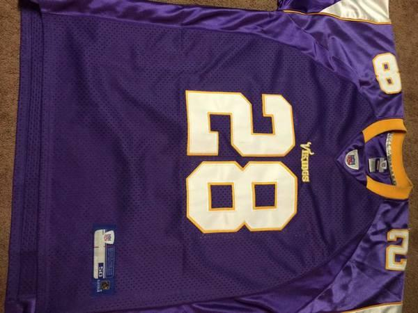 183a60a33 Adrian peterson minnesota vikings football jersey for sale in Lindsay