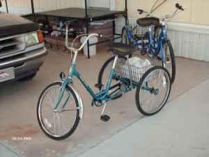 ADULT THREE WHEEL BICYCLES - $190225 (EAST TUCSON)