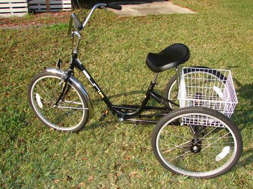 Adult Tricycle/ 3 wheel bike/ Miami Sun