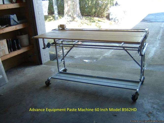 advance pasting machine