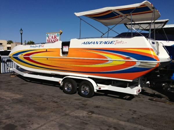 Advantage 28 Party Cat Deck Boat - $45500
