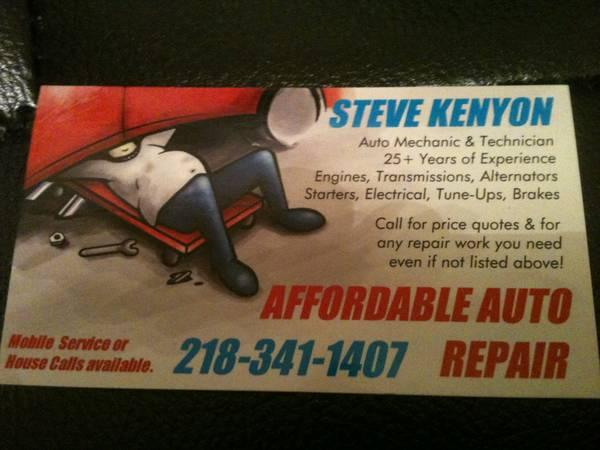 affordable auto repair for sale in duluth minnesota