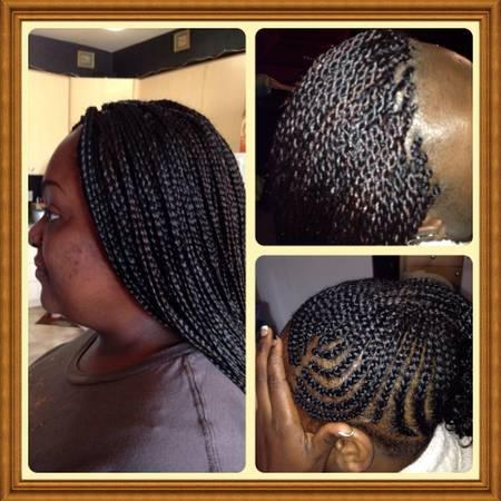 African braids/ Senegaless twist/ weaves/cornrows