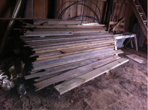 Aged And Weathered Oak Rough Cut Barnwood 400 Pieces For Sale In