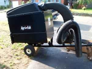 Agri Fab tow behind leaf mow and vac - $700 (seymour)