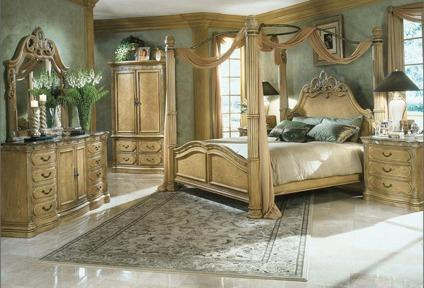 Aico La Francaise King Complete Bedroom Suite For Sale In
