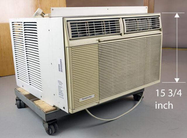 air conditioner 12000 btu hampton bay window unit for sale