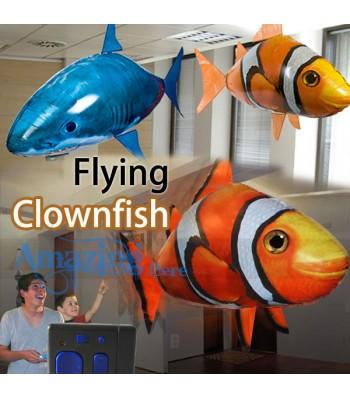 Air Swimmer Inflatable Flying Clownfish Remote Control