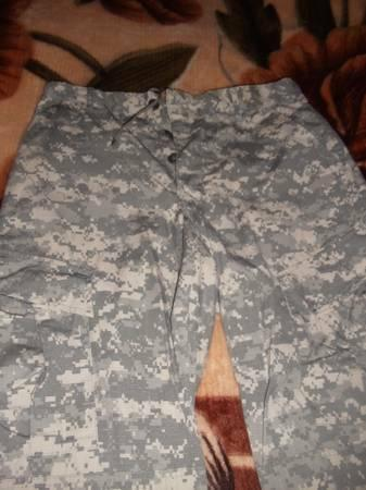 Airsoft ACU uniform and Mollie Vest and other things - $1