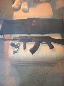 Ak47 air soft pellet gun - $100 S stafford