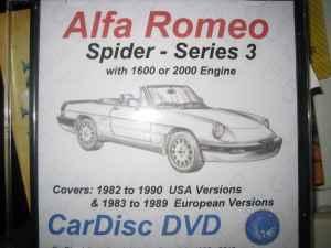 alfa romeo spider series 3 service manual owners  all Alfa Romeo Brera 1976 Alfa Romeo Spider
