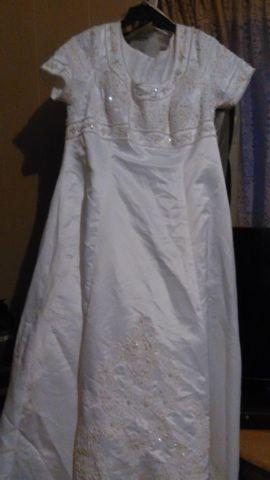 Alfred Angelo size 20 wedding dress
