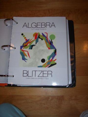 College algebra by blitzer 7th edition