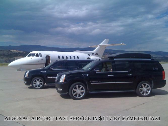 ALGONAC Airport Taxi Service in $117 by MyMetroTaxi