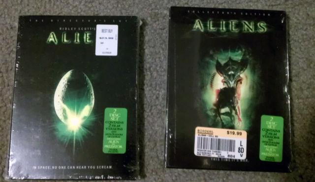 Alien Aliens 2-Disc Collector Edition DVD lot Cameron